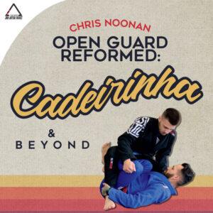 Photo: Cover image for Black Belt Chris Noonan's BJJ Instructional Open Guard Reformed Cadeirinha and Beyond