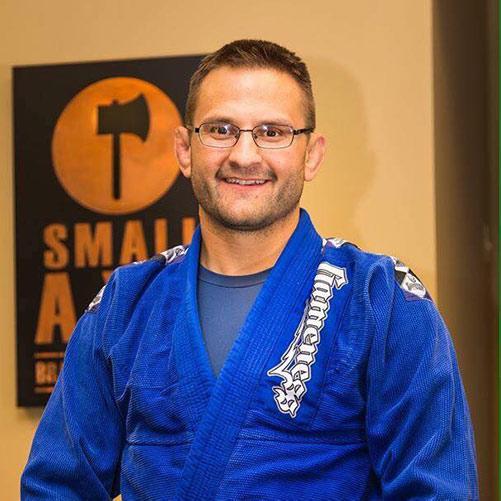 Photo of Black Belt Tim Sledd of Small Axe Jiu-Jitsu