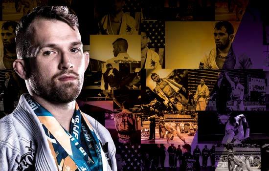 Photo of Brazilian Jiu-Jitsu Black Belt Champion Kristian Woodmansee