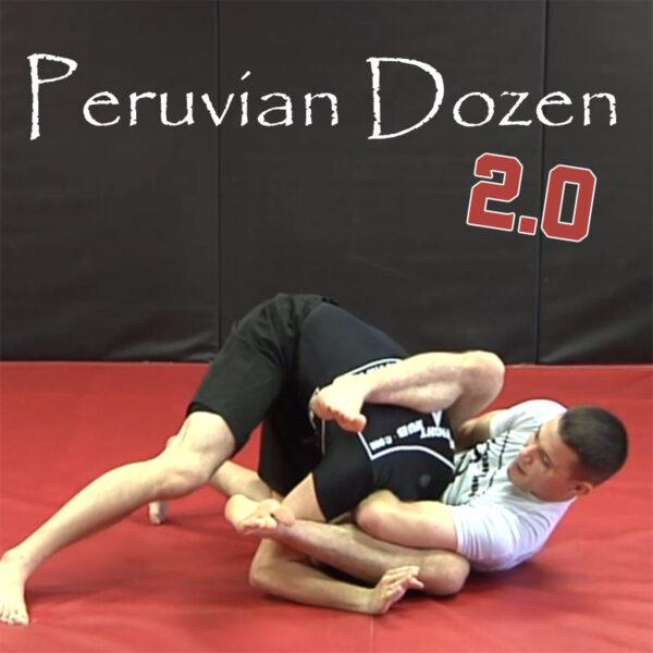 Cover: BJJ Black Belt James Clingermans Instructional Peruvian Dozen 2