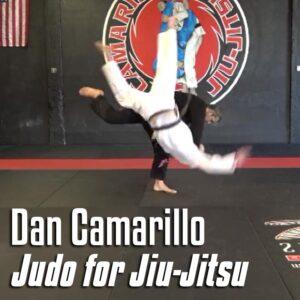 Image: Cover for Judo for Jiu Jitsu by Dan Camarillo Instructional