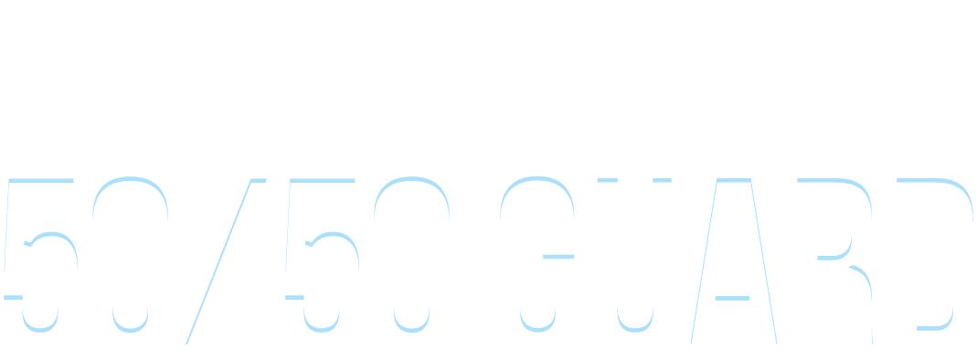 Text: Kristian Woodmansee's 50-50 Guard