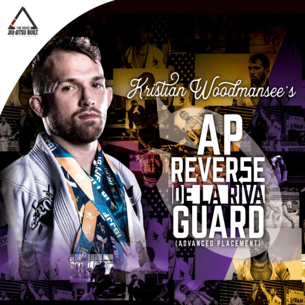 Image: Kristian Woodmansee's Reverse De La Riva Guard BJJ Instructional cover
