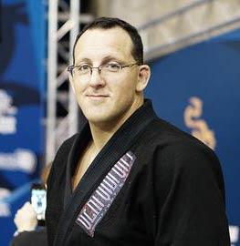 Portrait of BJJ Black Belt Tom McMahon