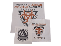 The Fight Hub Custom Sublimated Patches